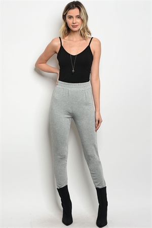129-2-1-P61861 HEATHER GRAY PANTS 3-2-1
