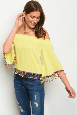 132-3-1-T3907 YELLOW TOP 1-2-3