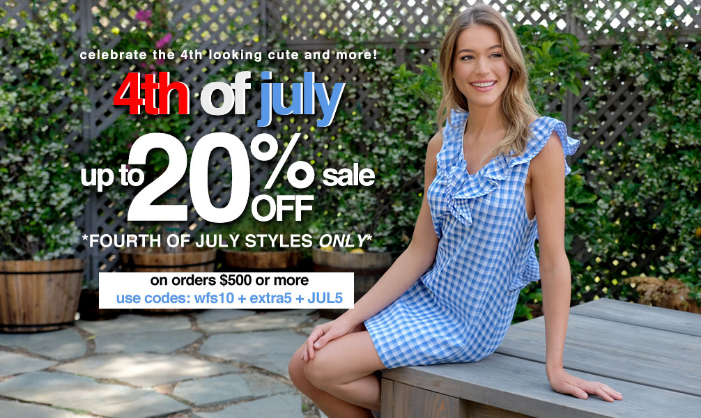 174ff6bc2f9 4th of July Wholesale Clothing for Women