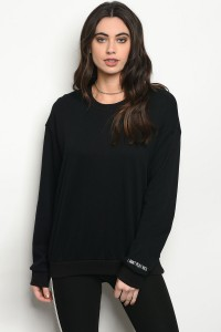 S3-10-5-NA-T1286 BLACK SWEATSHIRT 3-2-1