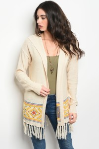 S8-14-4-S4589 CREAM YELLOW BLUE SWEATER 2-2-2