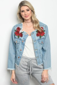 S3-10-5-J5437 MEDIUM BLUE JACKET 3-2-1