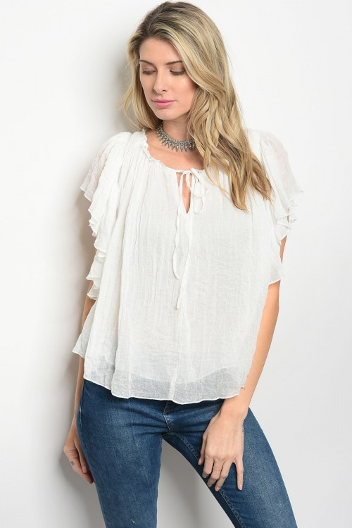 103-6-4-T22769 OFF WHITE TOP 2-2-2