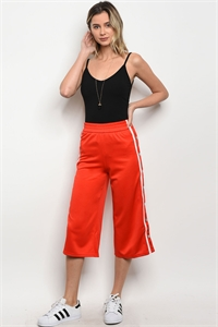 S2-8-1-P1871 RED TRACK PANTS 3-2-1