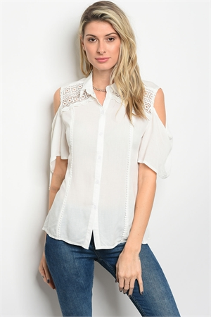 116-1-1-T8837 OFF WHITE TOP 2-2-2