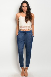S2-4-5-P9075 DENIM BLUE PANTS 2-2-2
