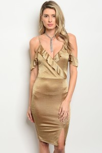C89-A-4-D4761 TAUPE DRESS 2-2-2