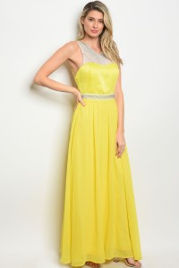 S2-4-4-D9933 YELLOW DRESS 2-2-2