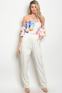 109-5-3-J30182 WHITE PINK JUMPSUIT 2-2-2