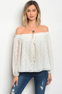 135-4-1-NA-T1577 OFF WHITE TOP 3-2-3