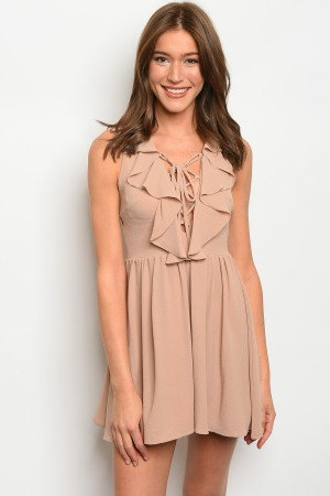 S5-1-4-D71028 TAUPE DRESS 2-2-2