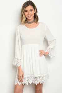 106-1-4-D10097 OFF WHITE DRESS 2-2-2