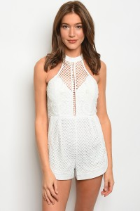 127-1-4-R00179 OFF WHITE ROMPER 2-2-1