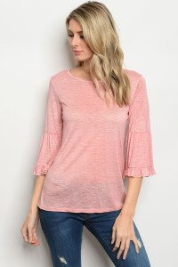 C77-B-4-T3045 PINK TOP 2-2-2