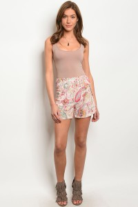 108-6-4-S1008 BLUSH MULTI SHORT 2-2-2