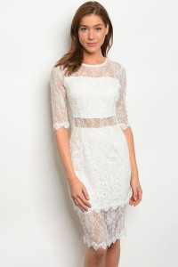 S2-10-1-D3766 OFF WHITE DRESS 2-2-2