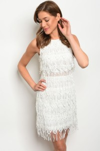 S2-9-2-D1265 OFF WHITE DRESS 2-2-2