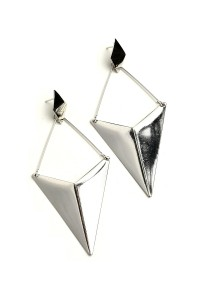 201-2-2-ER5054 ARROW SHAPE DROP EARRINGS/12PCS