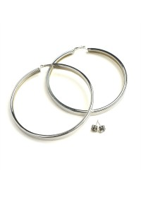 203-2-1-JER0645S HOOP EARRINGS/12PCS